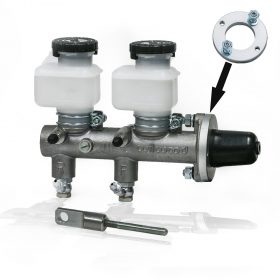 Wilwood Master Cylinder w/ pushrod, mounting adapter, rubber boot and banjo fittings