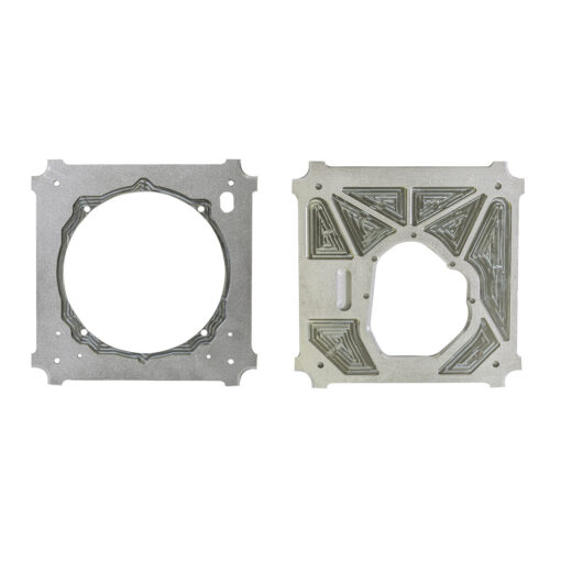 Mendeola, Type 1 front motor plate and rear motor plate