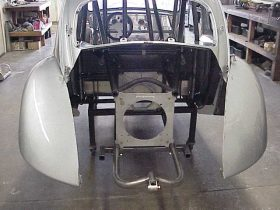 Parachute Mount for Chassis Car
