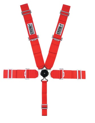 Crow Seat Belt Red