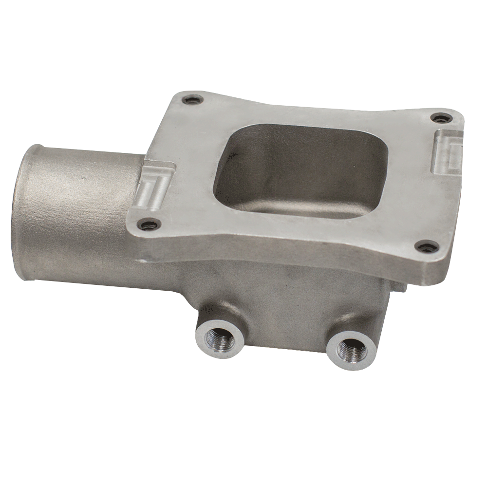 "Holley 3"" Turbo Intake Manifold Cast"