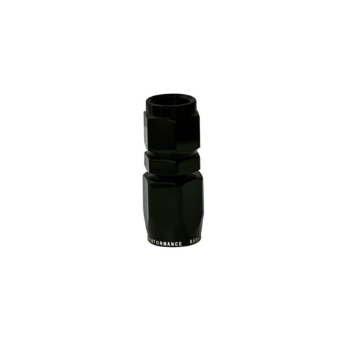 -06 Straight Hose End - Black