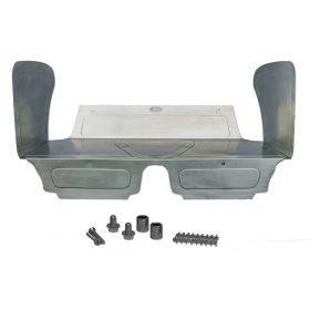 Aluminum Rear Seat Delete Kit