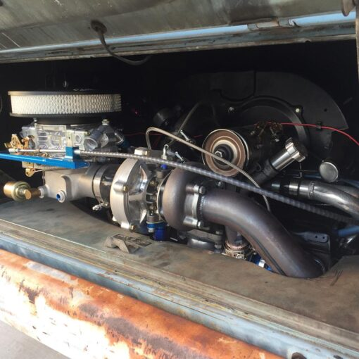 Holley Bus Turbo Kit with Fan Shroud