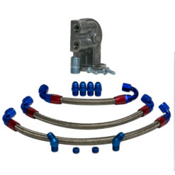 Braided Line Kit for Flull Flow Manifold, Filter Oil and HP-1 Filter Mount